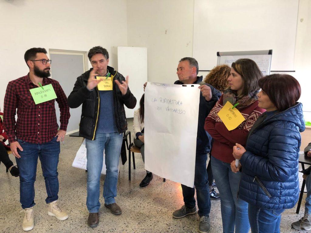 """Presentazione prototipo """"La rifioritura di Vaccarizzo"""""""
