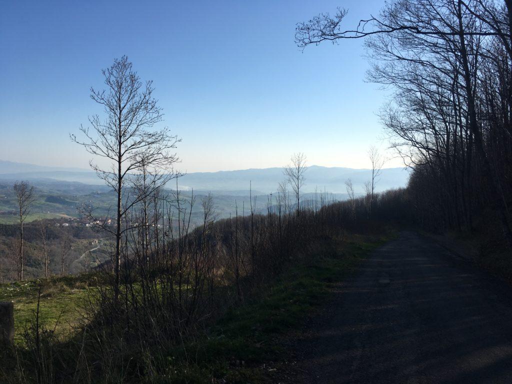 Paesaggio naturale intorno a Vaccarizzo.