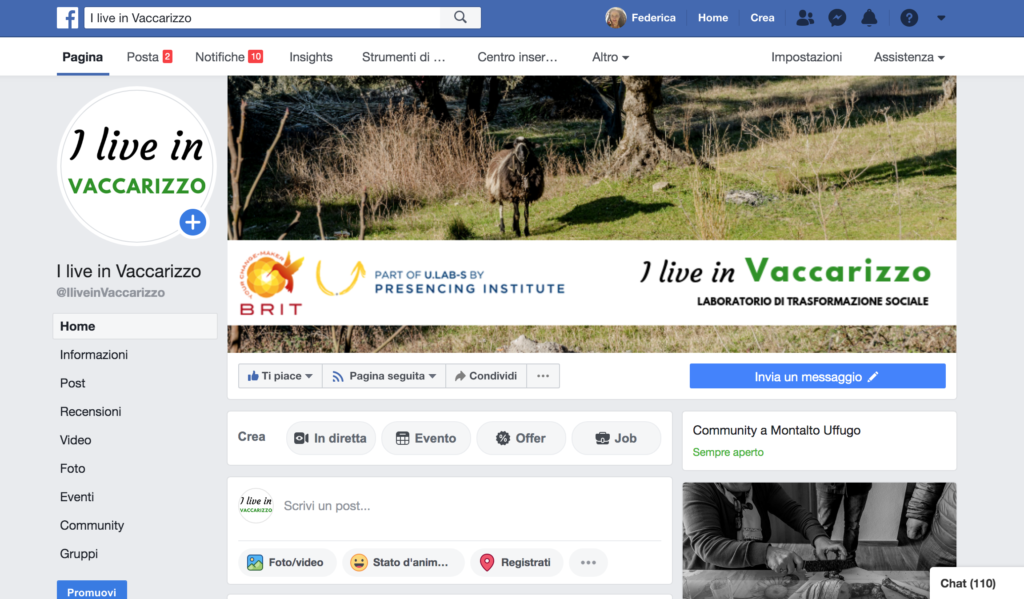 Home page Community I live in Vaccarizzo