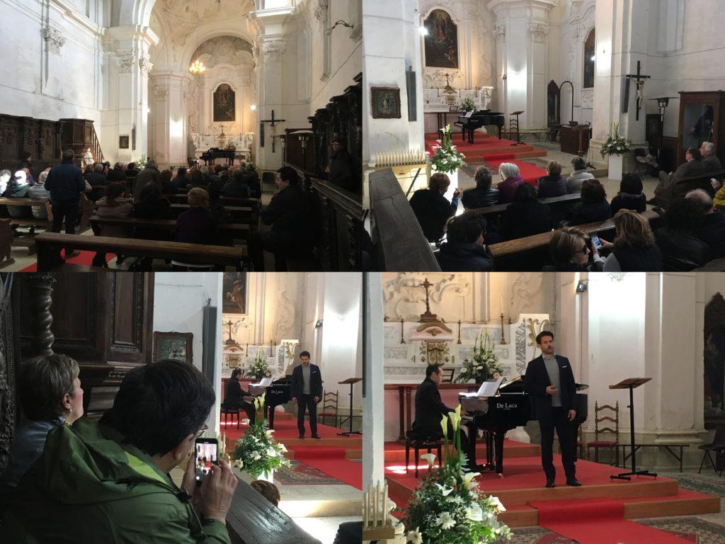 Concerto nella chiesa di San Rocco