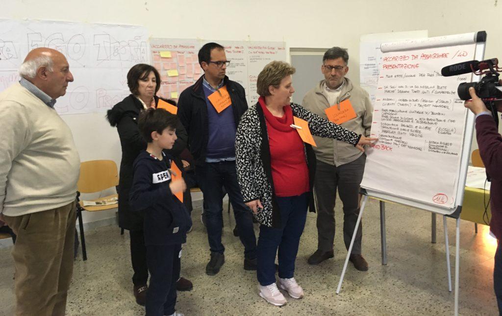 """Presentazione in plenaria del prototipo """"Vaccarizzo da assaggiare"""""""
