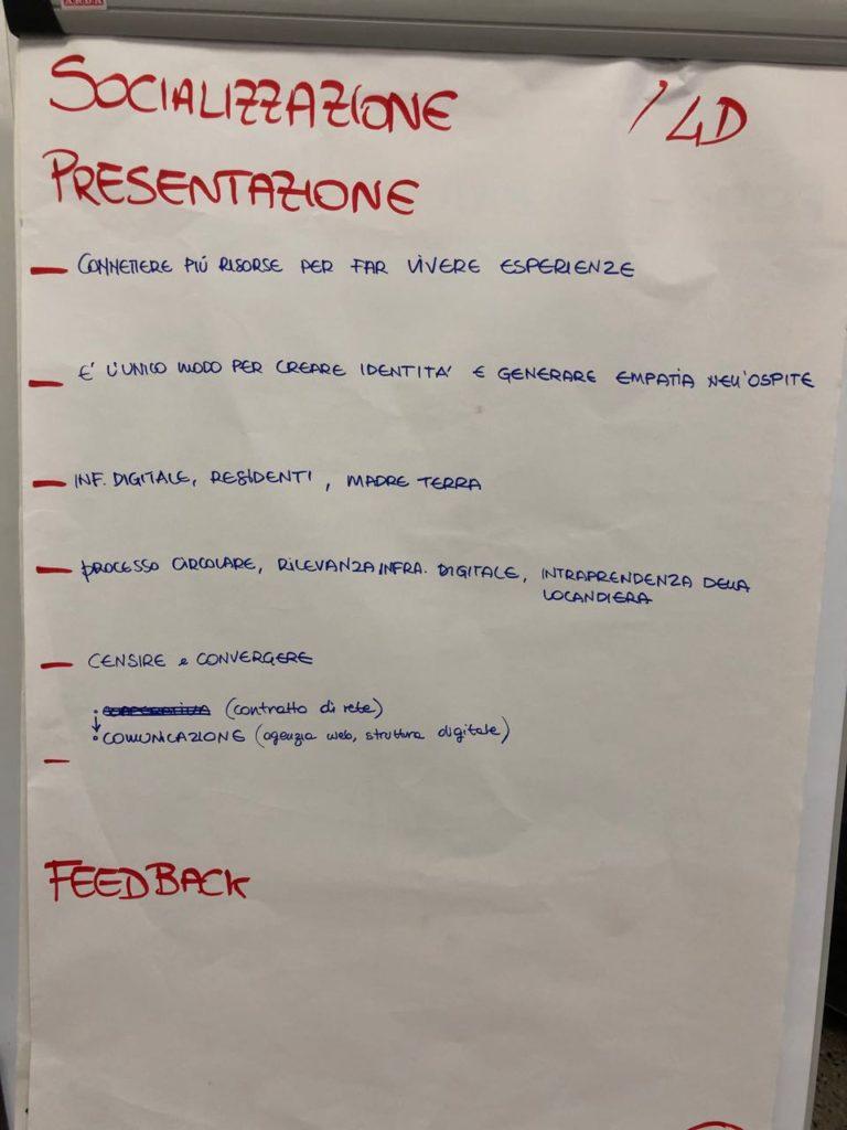 """Presentazione e sintesi del prototipo """"Socializzazione"""""""