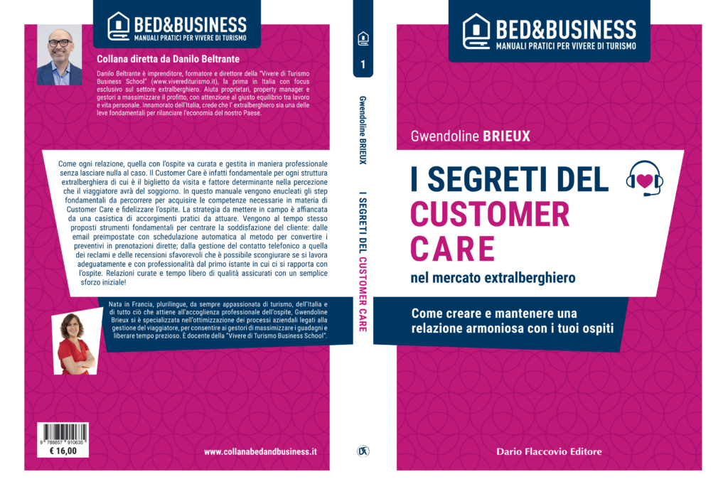 "Copertina libro ""I segreti del customer care"" di Gwendoline Brieux"