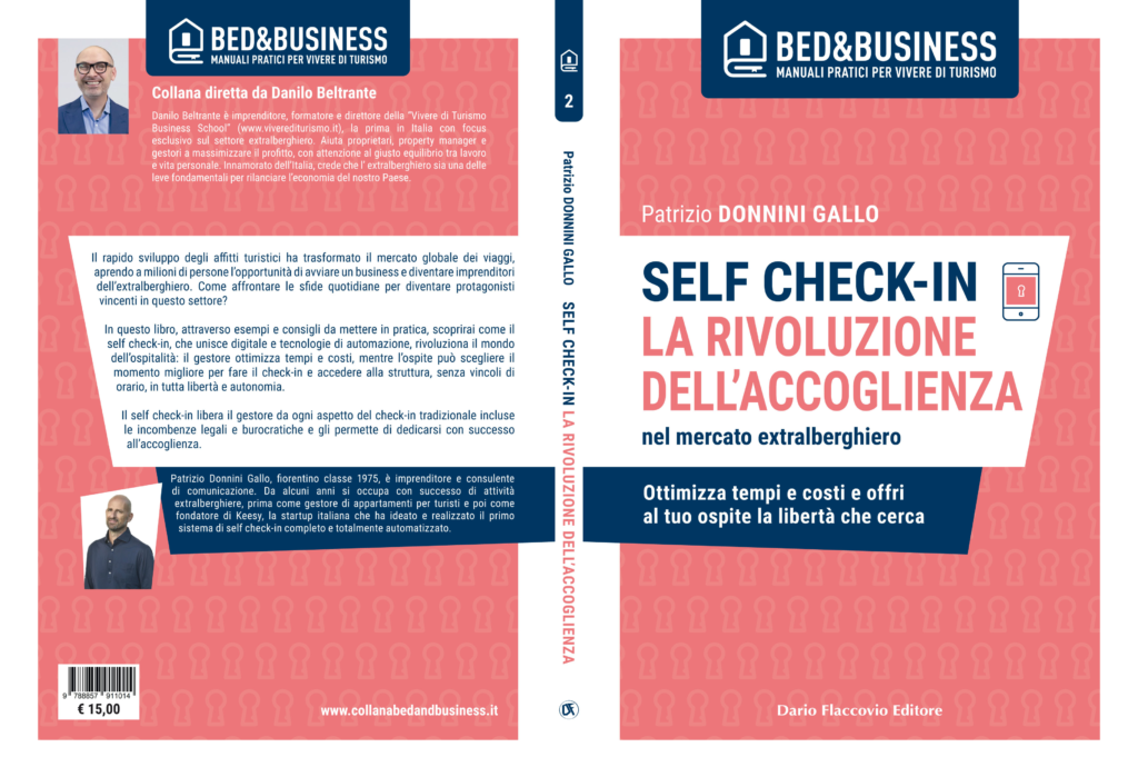 "Copertina libro ""Self Check-In"" di Patrizio Donnini Gallo"